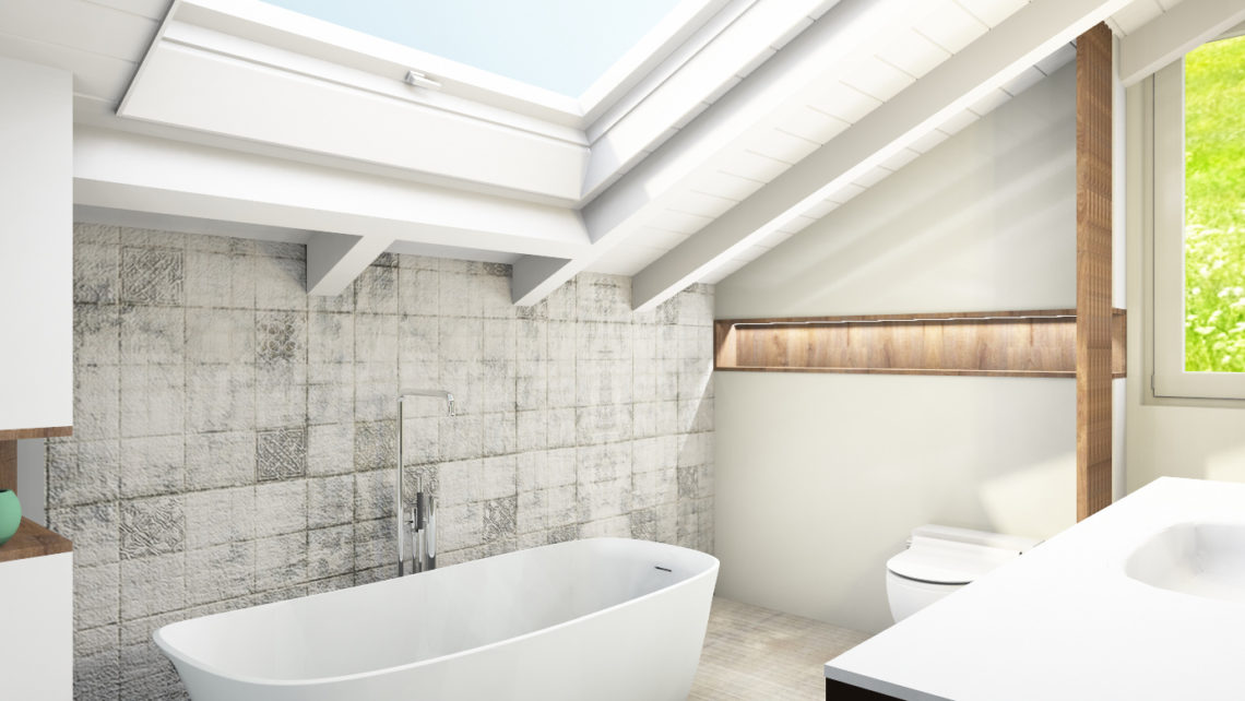 tapetenwechsel im bad aqwa. Black Bedroom Furniture Sets. Home Design Ideas